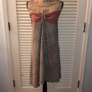 Patagonia strapless dress